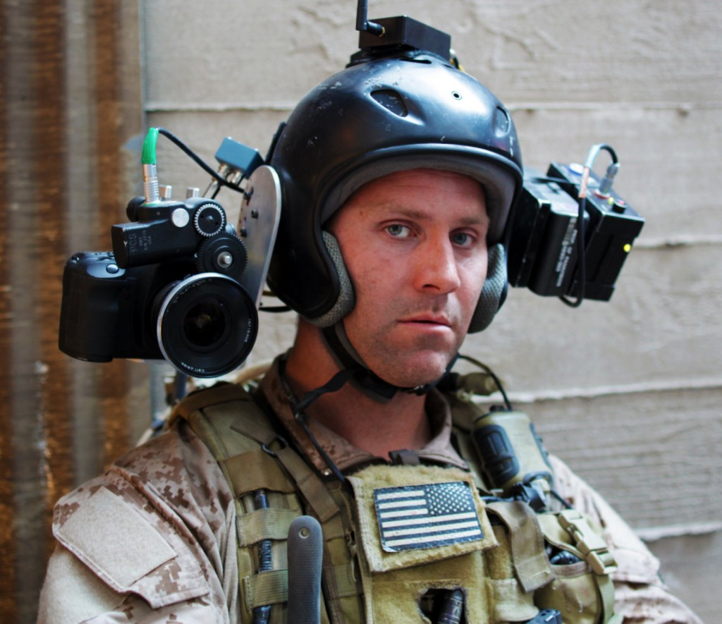 Filming through the eyes of a Navy Seal