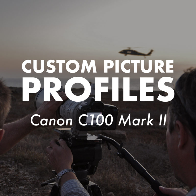 Custom Picture Profiles_Canon C100 Mark II_1x1