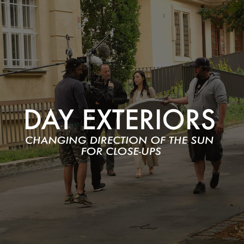 Day Exteriors- Changing Direction of the Sun for Close-Ups_1x1